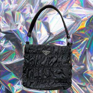 Nylon Prada Black Shoulder Bag